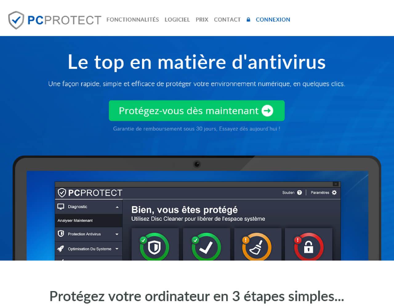 PC Protect Avis 2019 | Classement Logiciels Antivirus